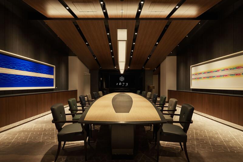 Private Meeting & Dining Room Tokyo American Club Nihonbashi