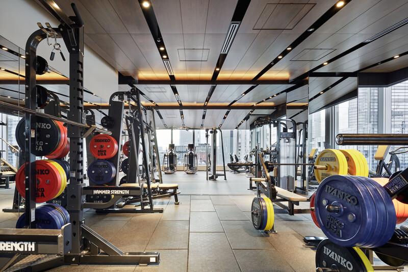 Fitness Center Tokyo American Club Nihonbashi