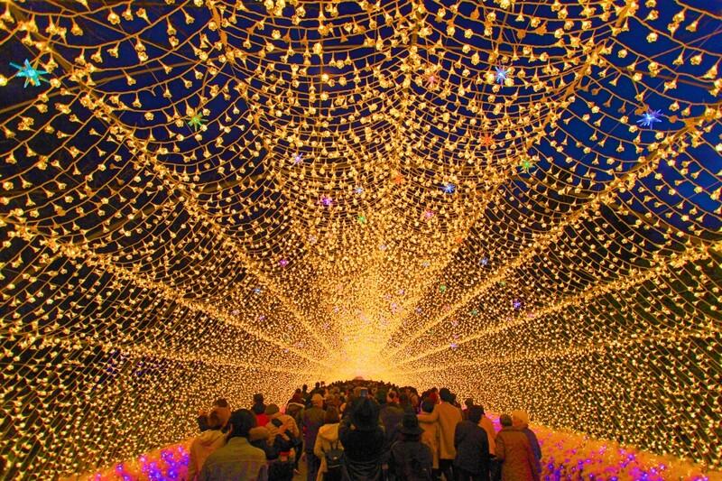 Nabana no Sato Illuminations Winter Festival