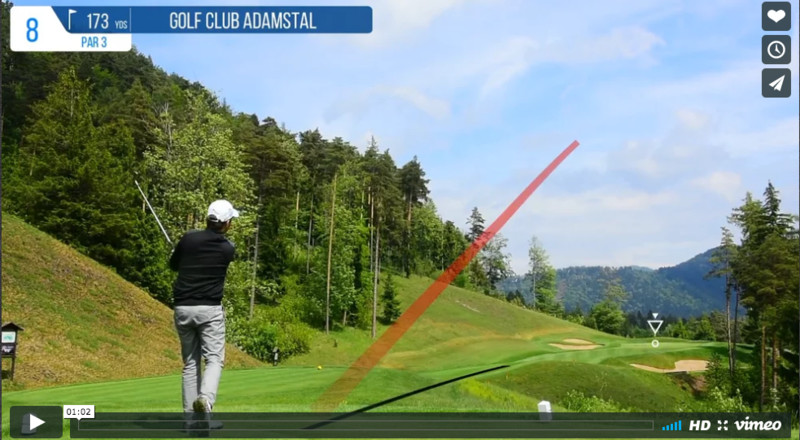 tracking your shots with shot tracer air golf japan