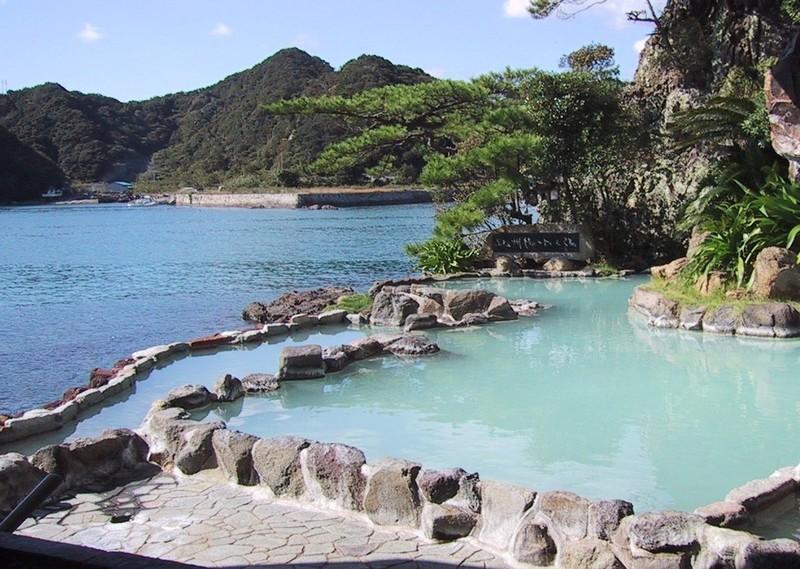 Open air baths in Fukui