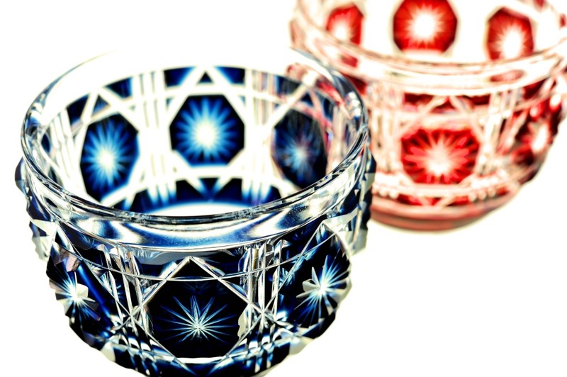 Satsuma Kiriko Cut Glass
