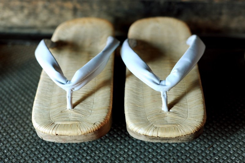 Sandals of a Pilgrim on the 88 temple pilgrimage