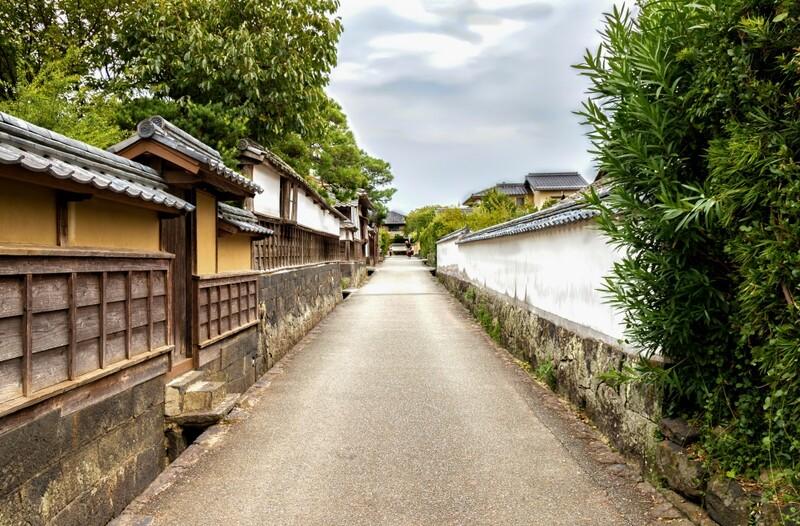 Hagi Yamaguchi, preserved streets in a samurai town