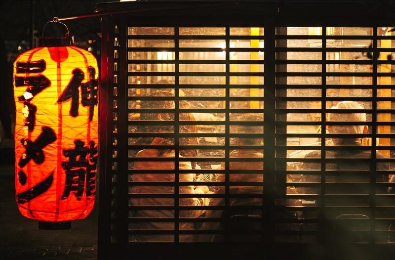 Street Stall for Hakata Ramen in Fukuoka