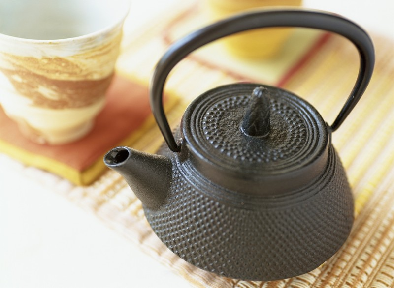 Iron teapot from Iwate