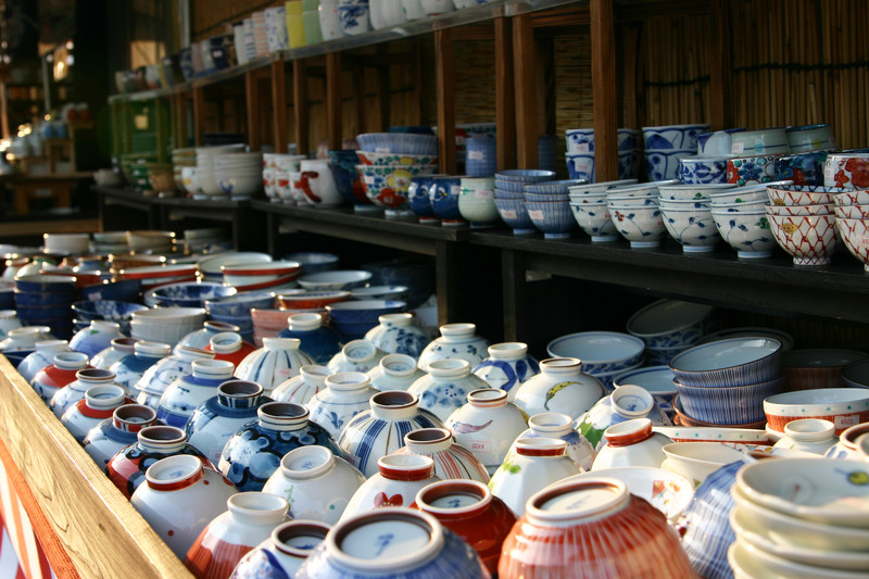 Pottery for sale in Saga prefecture
