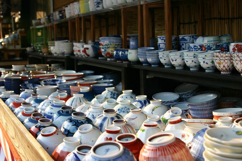 Pottery for sale in Saga prefecture