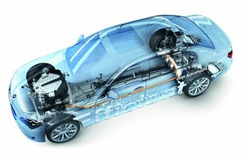 BMW 7 Series Active Hybrid