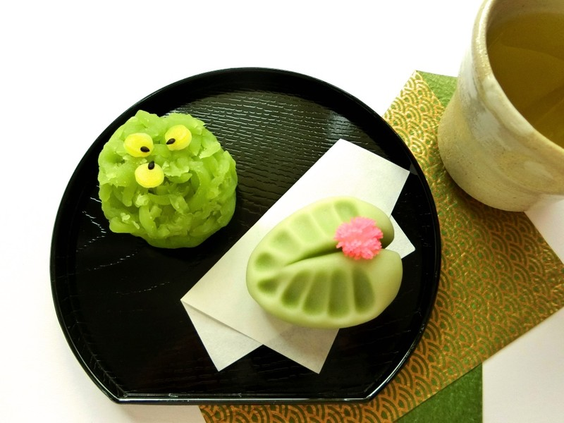 Wagashi Sweets in Kyoto