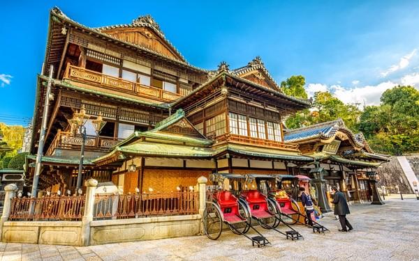 Historic Dogo Onsen in Matsuyama