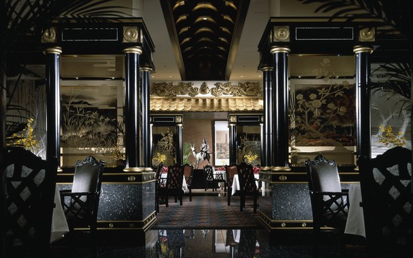 Interior of the Ryutenmon at The Westin Tokyo